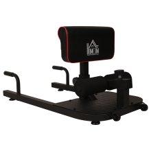 HOMCOM 3-In-1 Sit Up, Push Up & Squat Machine