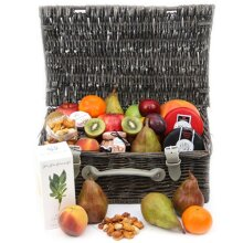 Gourmet Cheese and Fruit Hamper - Fruit Gift Baskets and Gift Hampers