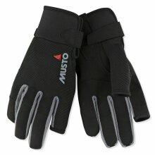 MUSTO Essential Sailing Long Finger Glove Black GREY Trim AUGL002 XXL  J3