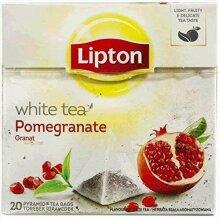 Lipton White Tea With Pomegranate 4 Boxes Of 20 (80)
