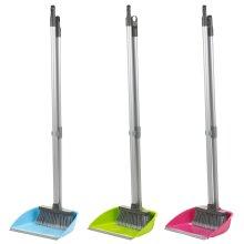 Long-Handled Dustpan & Soft Brush Set