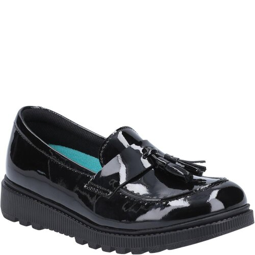 Hush Puppies Girls Karen Patent Leather Loafers