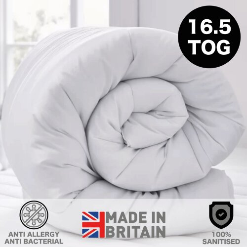 (Double) Extreme Winter Warm 16.5 Tog Anti Allergy Duvet