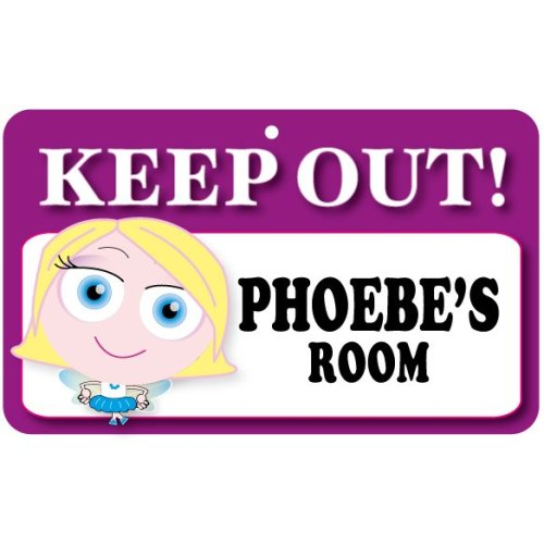 Keep Out Door Sign - Phoebe's Room
