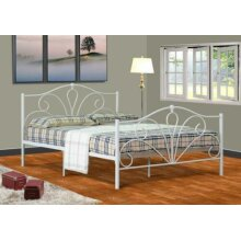Scarlet Metal Bed Frame with Lucy Mattress