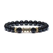 Men Batman Beads Bracelet