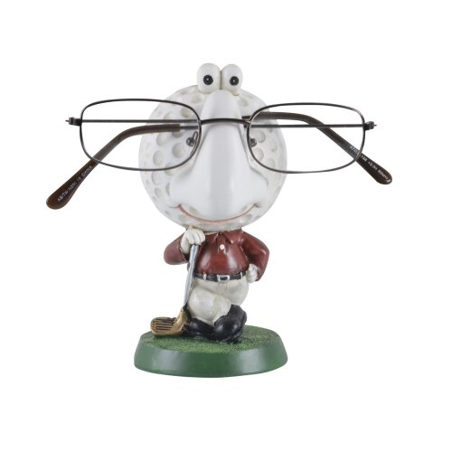 Golf Reading Glasses Holder Figure Gift Ornament Accessory Spectacles Stand