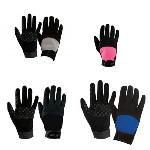 Dublin Unisex Touch Fastening Cross Country Riding Gloves II