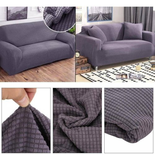 3 Seaters Sofa Settee Covers Couch Slipcovers Stretch Elastic Fabric
