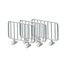 1:32 Siku Pack Of 10 Barriers - 2464 Road Model 10piece Assorted Colours -  barriers siku 2464 road model 10piece assorted colours