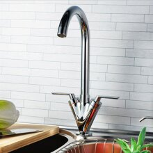 Dual Lever Modern Kitchen Sink Tap