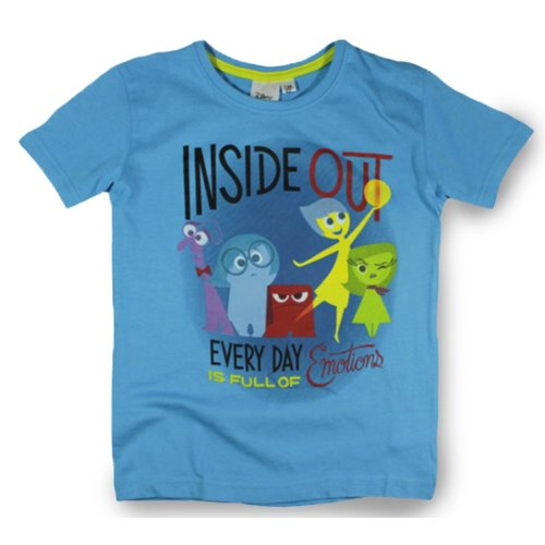 Inside Out T Shirt - Emotions Blue