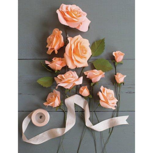 Crepe Paper Flower Kit -Roses