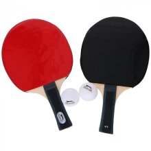 TABLE TENNIS BAT SET WITH BALLS AND BAG SPORTS PING PONG PROFESSIONAL
