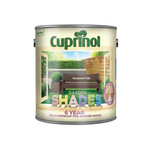 Cuprinol 5092608 Garden Shades Seasoned Oak 2.5 Litre